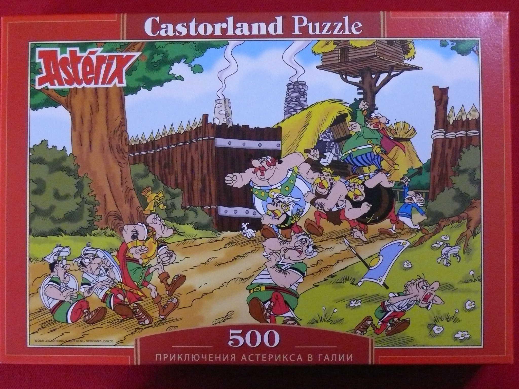 Puzzles - Castorland Ast%C3%A9rix%20et%20Ob%C3%A9lix%20TRIP%20