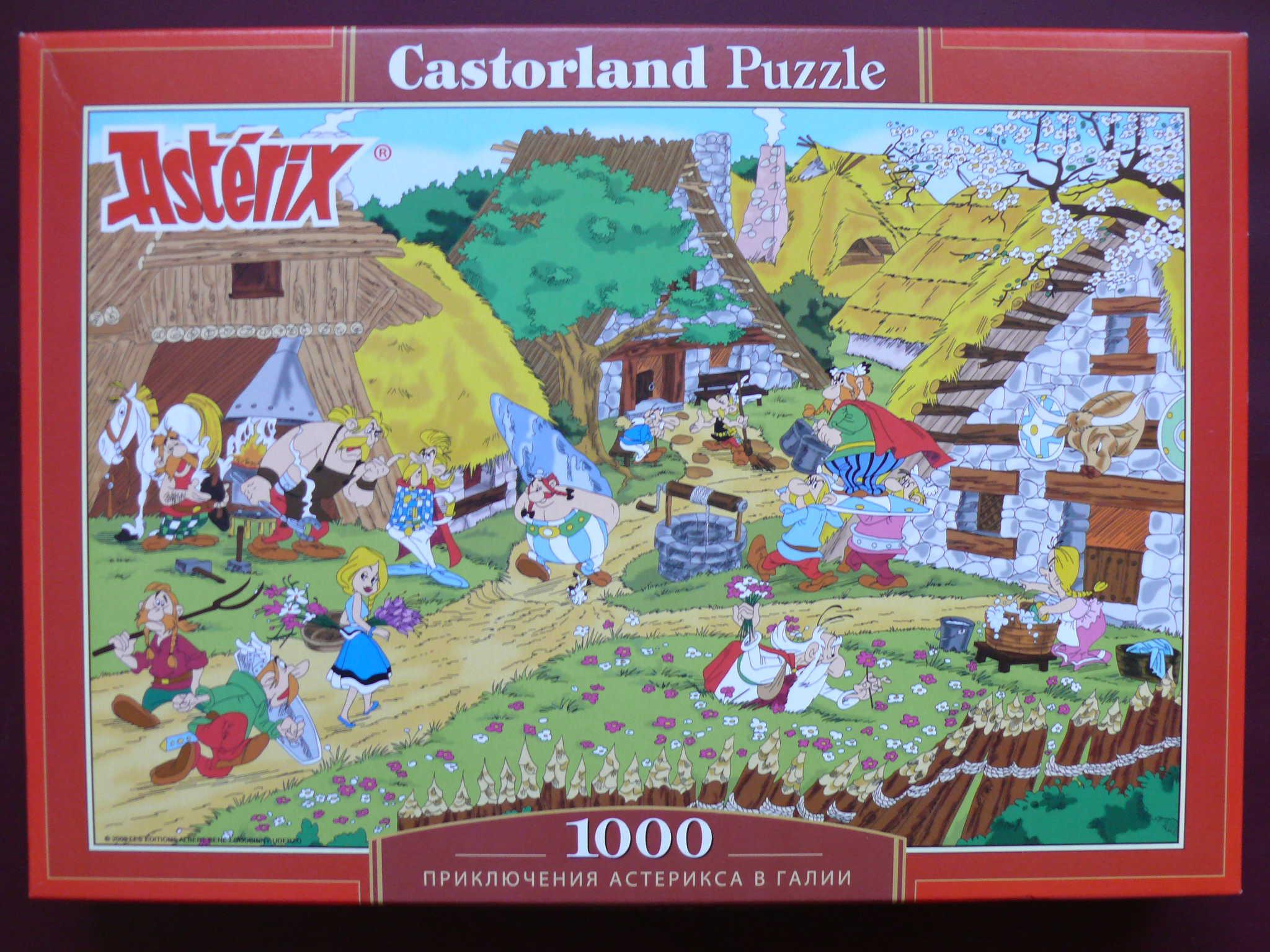 Puzzles - Castorland Asterix,%20dans%20le%20village